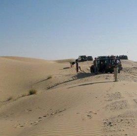 Abu Dhabi Desert Dune bashing briefing