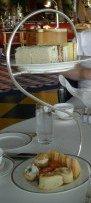 Afternoon tea sandwiches Sahn Eddar atrium bar Burj Al Arab Dubai