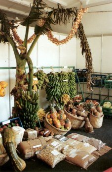 Agricultural produce display-Agricultural Fair- Havana-Cuba