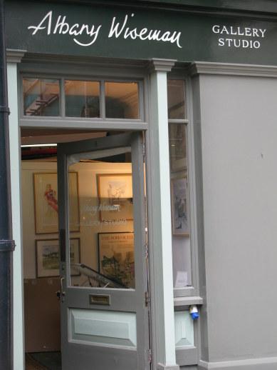 Albany Wiseman Gallery in Bloomsbury London