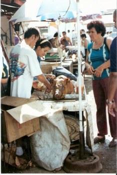 BBQ pig at Agricultural Fair – Havana