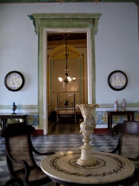 Bedroom off living room Palacio Cantero Trinidad de Cuba