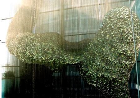 Thomas Heatherwick's Bleigiessen in London-colour variations
