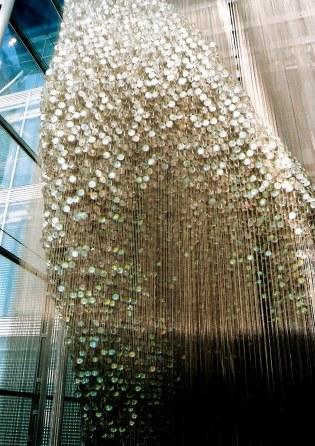 Thomas Heatherwick's Bleigiessen in London -glass bead colours