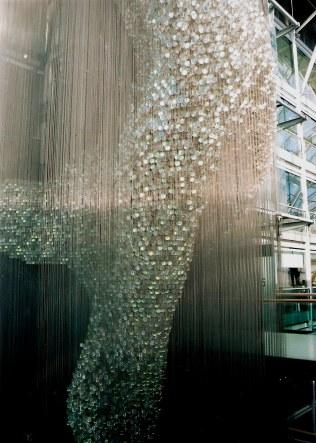 Thomas Heatherwick's Bleigiessen in London middle floor view