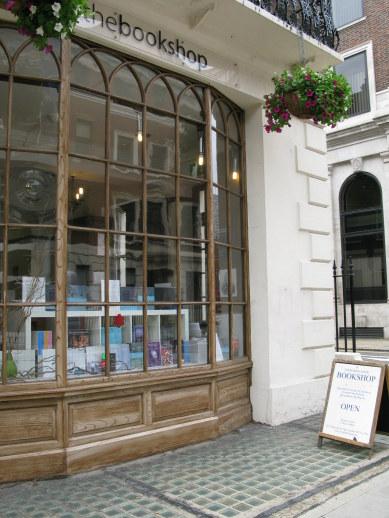 Bookshop in Bloomsbury London