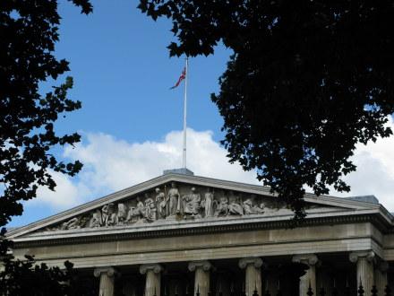 British Museum Columns and plinth
