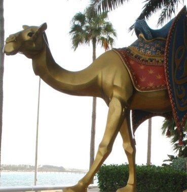 Golden Camel Burj Al Arab Dubai
