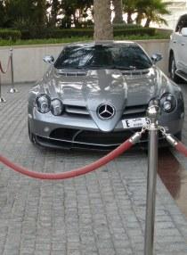 Mercedes-Benz SLR McLaren Coupé Burj Al Arab Dubai