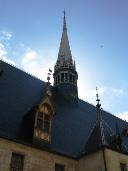 Chapel spires of the Hospices de Beaune