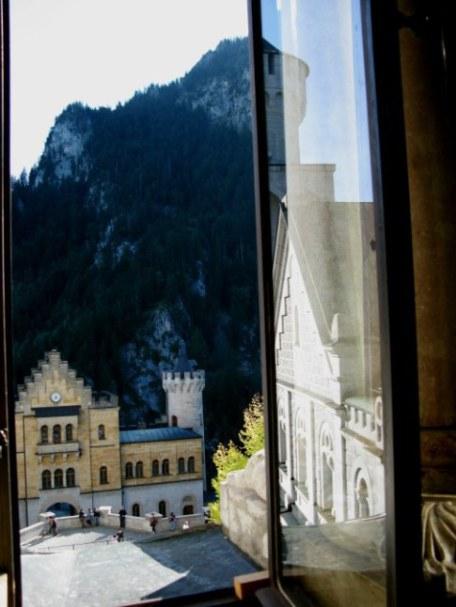 Citadel entrance to Neuschwanstein Castle Bavaria