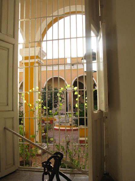 Courtyard view Palacio Cantero Trinidad de Cuba