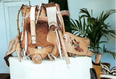 Cuban stock saddle – Agricultural Fair – Havana