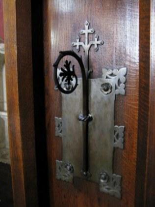 Decorative door lock Hospices de Beaune