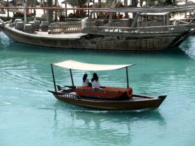 Dubai Madinat Jumeirah abra water taxi