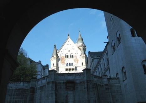 Entrance to Neuschwanstein Castle
