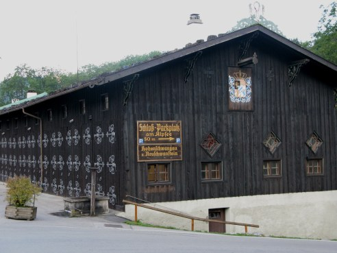Former stables Hohenschwangau Bavaria