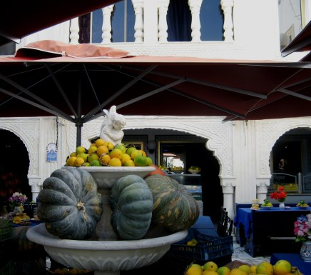 Fresh vegetables displayed in Tunisia