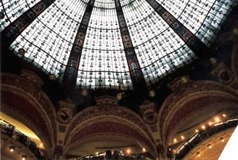 Gallérie Lafayette glass dome