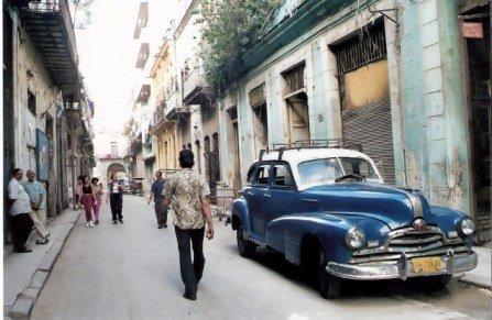 Havana-classic-car-parked-in-side-street