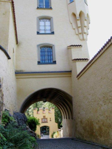 Hohenschwangau Castle Bavaria carriage exit