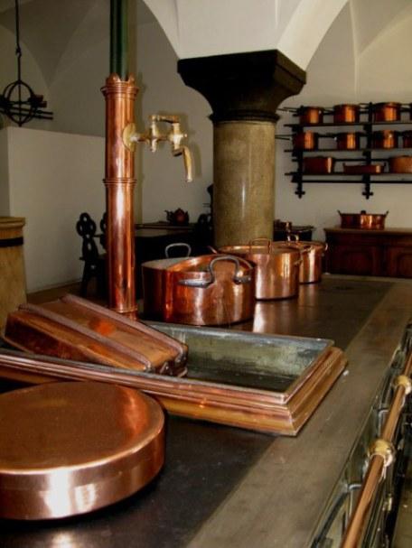 Kitchen Neuschwanstein Castle Bavaria