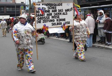 Mainz Carnival Children's Parade ABCs