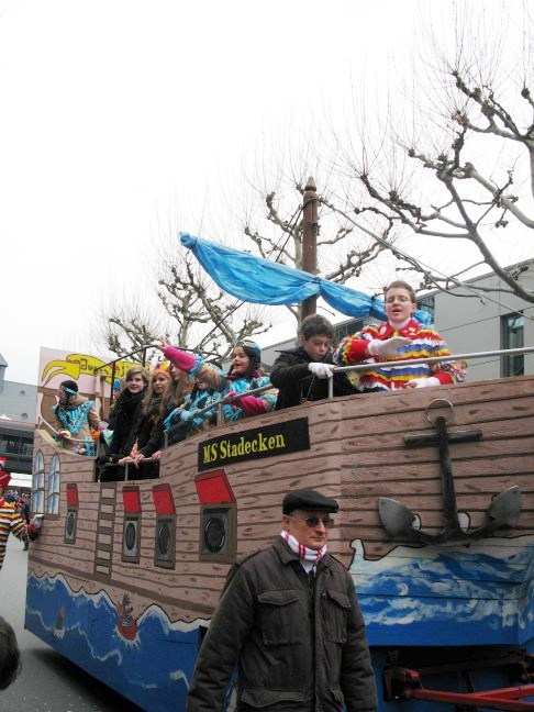 Mainz Carnival Children's Parade Float