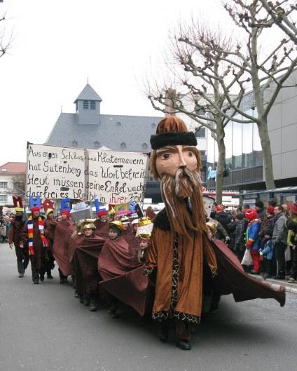 Mainz Carnival Children's Parade Gutenberg