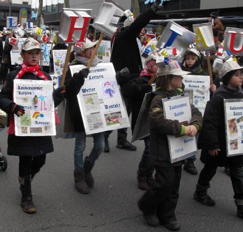Mainz Carnival Children's Parade HELAU
