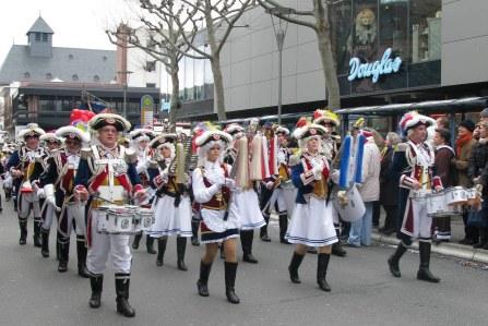Mainz Carnival Children's Parade Ranzengarde band