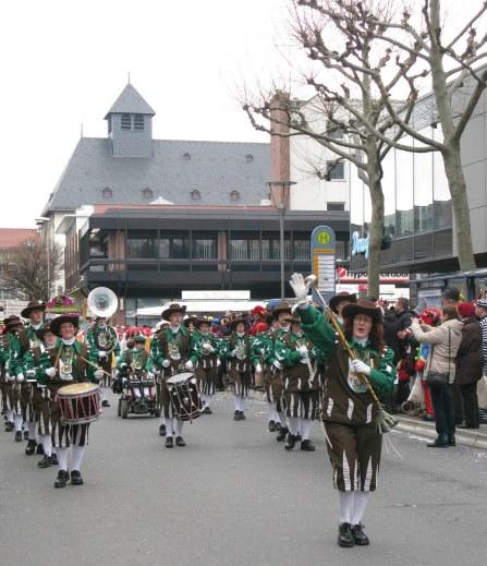 Mainz Carnival Children's Parade band