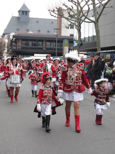 Mainz Carnival Children's Parade cadets