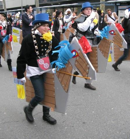 Mainz Carnival Children's Parade horses