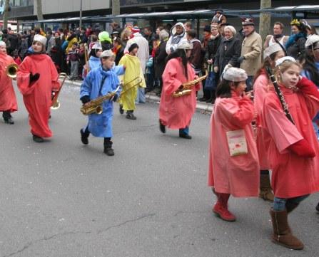 Mainz Carnival Children's Parade little band