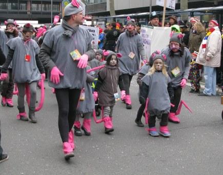 Mainz Carnival Children's Parade mice