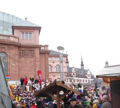 Mainz Carnival Children's Parade setting
