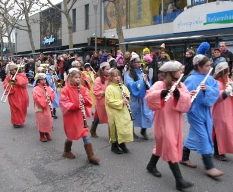 Mainz Carnival Children's Parade tiny band