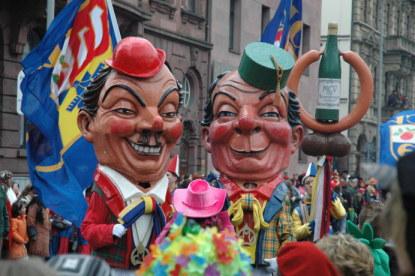 Mainz Carnival Parade Rosenmontag politics