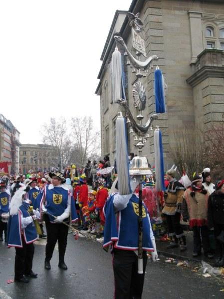 Mainz Carnival Parade Volunteer Firemen Glockenspiel