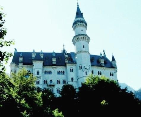Neuschwanstein - the fairytale castle of King Ludwig II of Bavaria