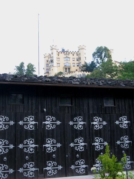 Old stables below Hohenschwangau Castle