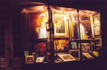 Paintings in the French Quarter New Orleans