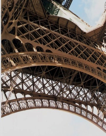 The art of integrated detail - the integrated patterns of the Eiffel Tower Structure
