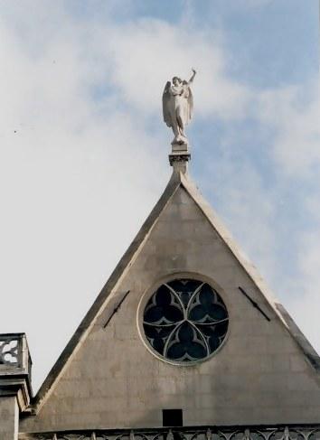 Angel of the Paris Church of Saint-Germain-l'Auxerrois