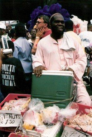 Peanut salesman Jazz Funeral New Orleans