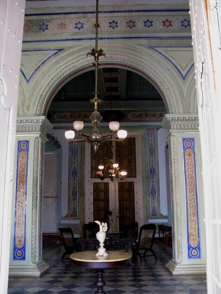 Reception hall Palacio Cantero Trinidad de Cuba