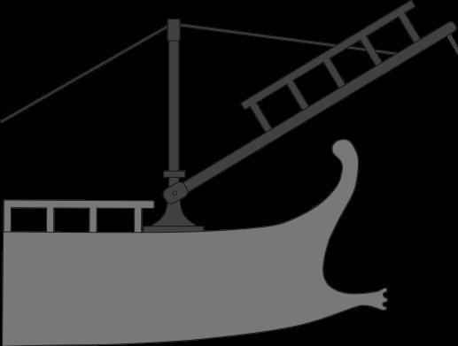 Diagram of Roman Corvus