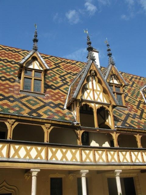 Roofline details Hospices de Beaune