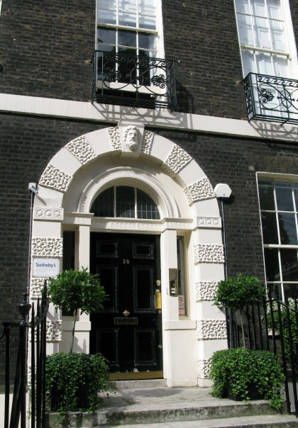 Sotherby's Institute of Art Bedford Square Bloomsbury London